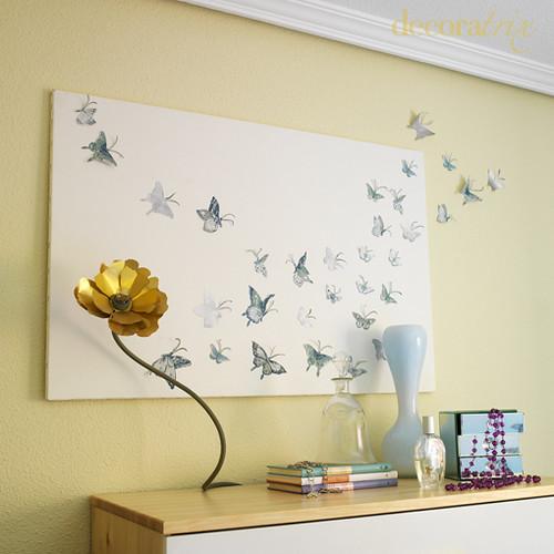 Flickriver photos tagged with cuadro - Plantillas de mariposas ...