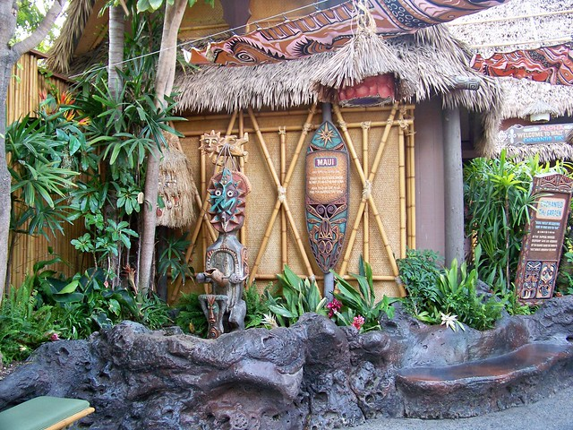 The Enchanted Tiki Room Gardens