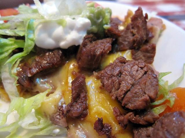 nuevo laredo cantina - zoom goes beef fajita nachos (aka nachos asada ...