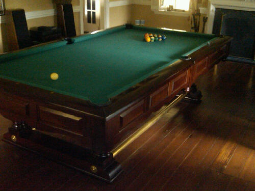 Fs brunswick prestige pool table for Prestige homes new brunswick