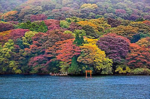 Hakone, Ashi Lake