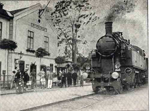 Vasútkiállítás a Skanzenben
