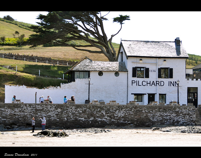 Pilchard Inn on Burgh Island
