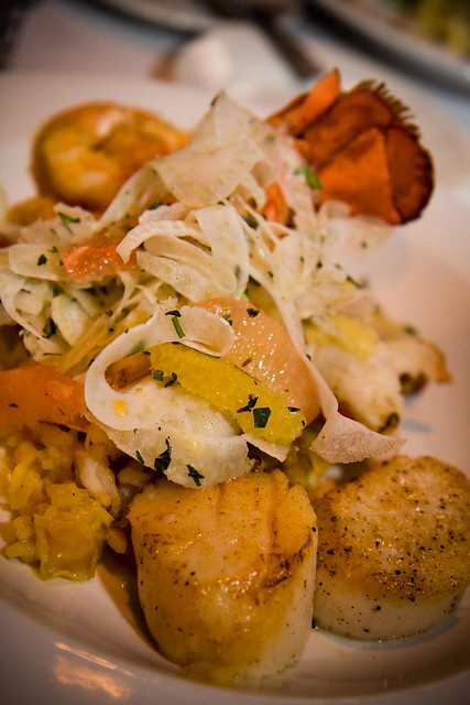 Lobster, Shrimp & Scallop Paella | Flickr - Photo Sharing!