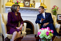 Pelosi and Obama Meet by blackenterprisedotcom