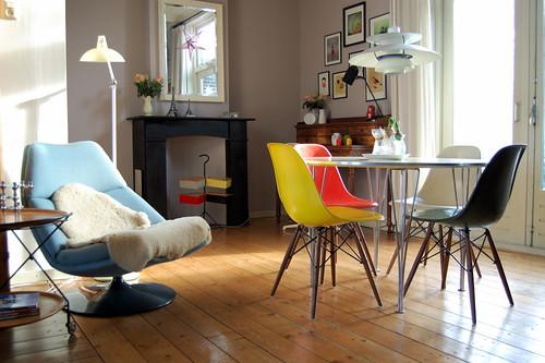 estilo vintage en la decoraci n decoracion in. Black Bedroom Furniture Sets. Home Design Ideas