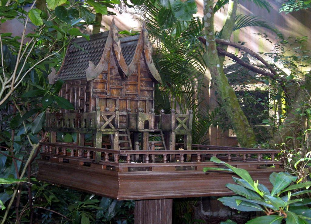 Animal kingdom asia maharajah jungle trek bird house for Classic jungle house for small animals