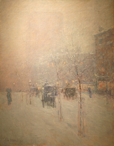 Late Afternoon, New York, Winter