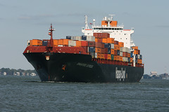vehicle, transport, freight transport, ship, sea, ocean, roll-on/roll-off, cargo ship, panamax, watercraft, container ship,