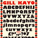 """Kayo"" typeface for Monotype by Eric Gill, 1936"