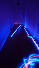 Roomba hallway led