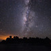 Milky Way over Glover's Atoll by David M Hogan
