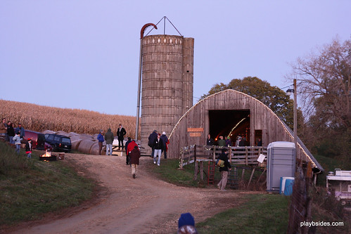 Codfish Hollow Barn in Maquoketa, IA Ready to Be Stormed