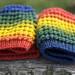 Rainbow hats by namolio