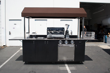 Coffee cart flickr photo sharing for Coffee cart design