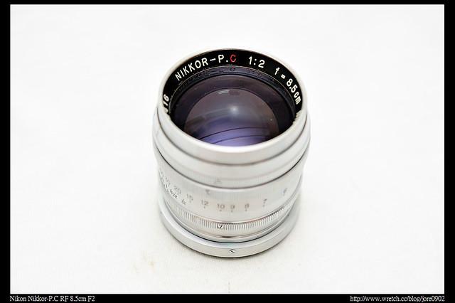 Nikon Nikkor-P.C RF 8.5cm F2