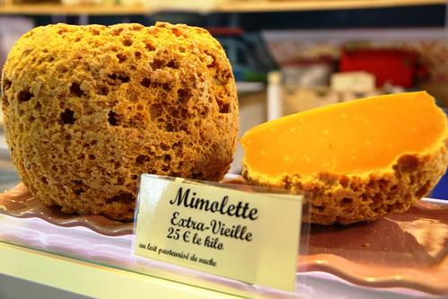 Queso Mimolette Extra Viejo de Leche de Vaca