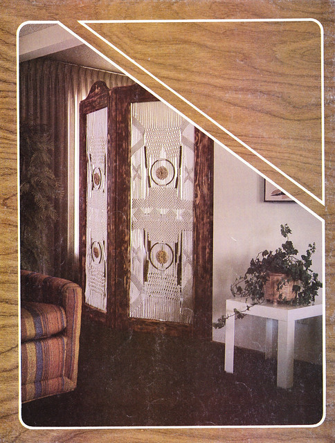 Room divider back cover macrame for home decor 819 for Zombie room decor
