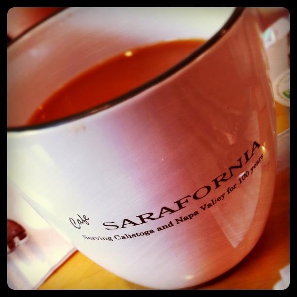 Cafe Sarafornia Calistoga Ca