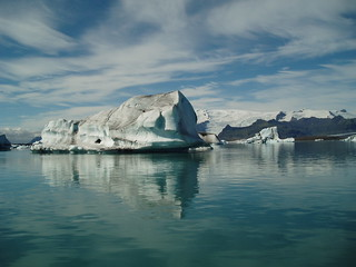 Vatnajökull lake