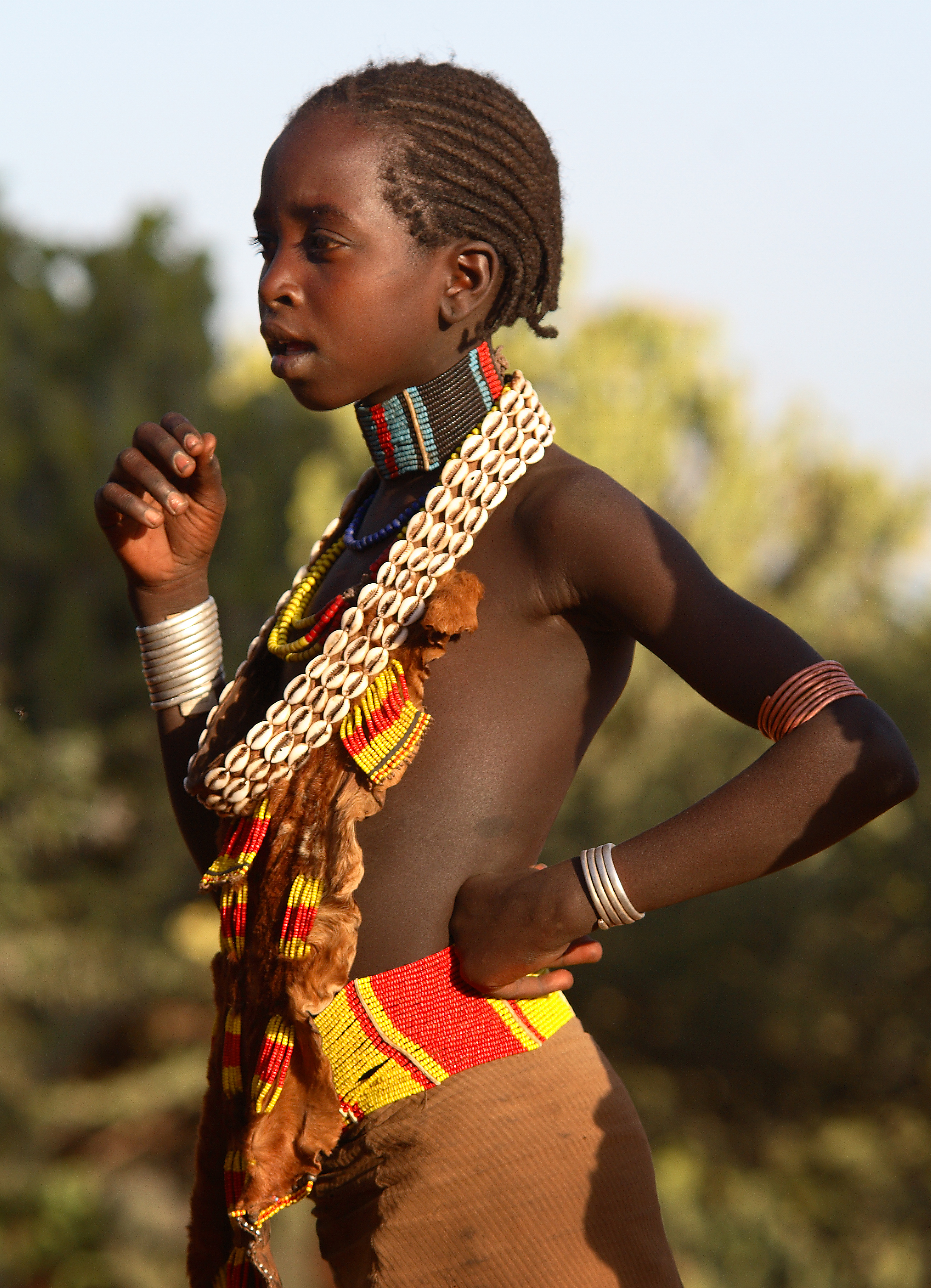 Ethiopia, Young Hamer Woman  Flickr - Photo Sharing-7805