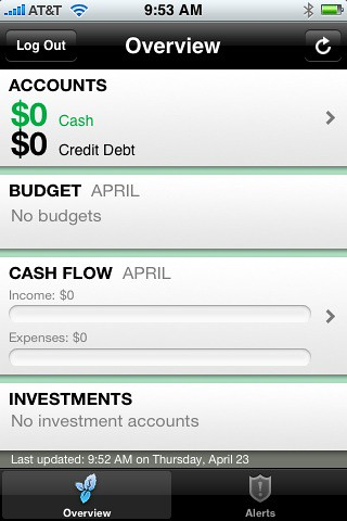 Mint.com app