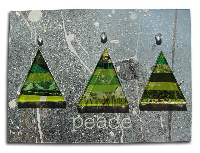 Spray Paint Triangles