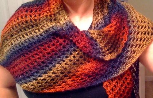 Knitting Instructions Kfb : Shelby knits aubrey shawl pattern