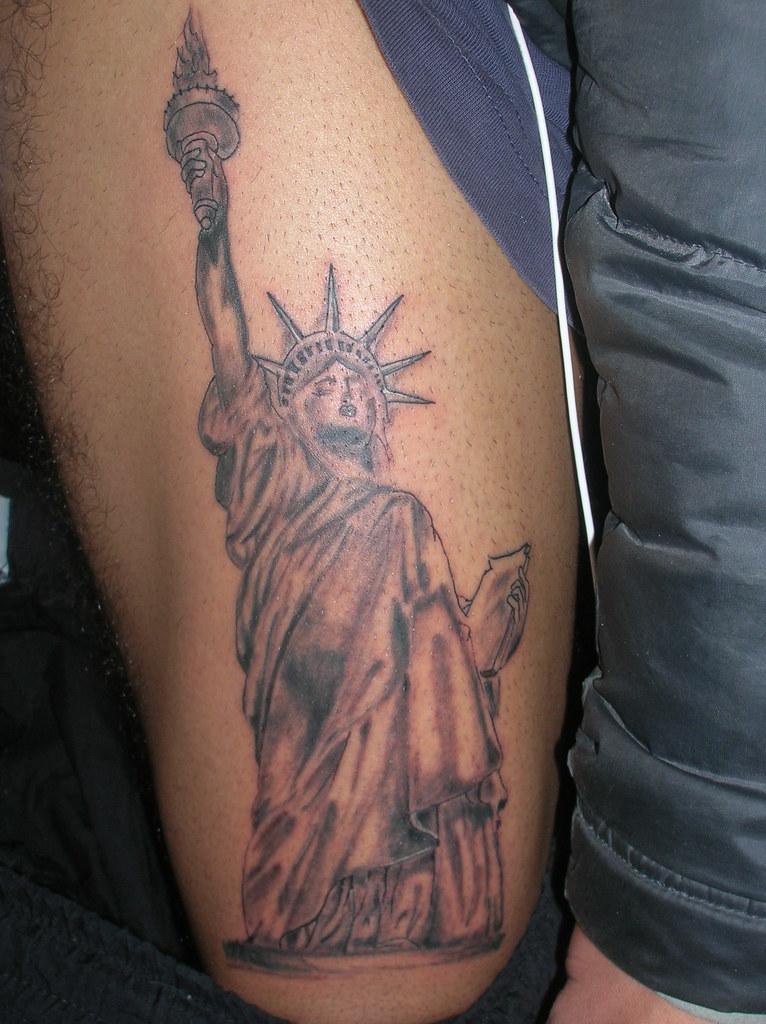 Estatua De La Libertad Tatuajes Chico Campos Flickr