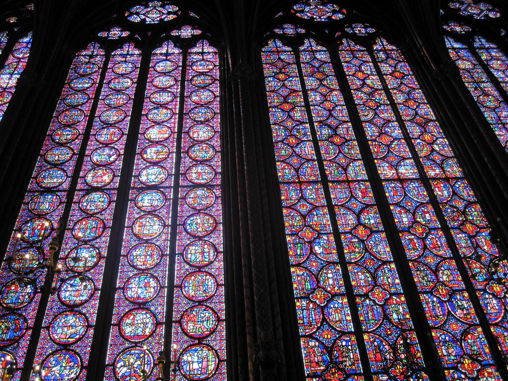 Sainte Chapelle Windows