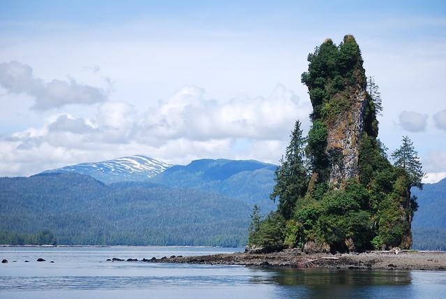 Monumento Nacional de los Fiordos Brumosos ( Misty Fjords National Monument ), Bosque Nacional Tongass, Alaska