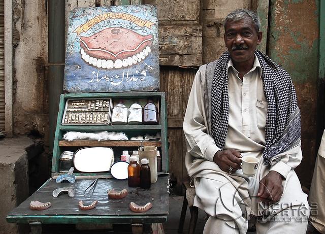 Street dentist