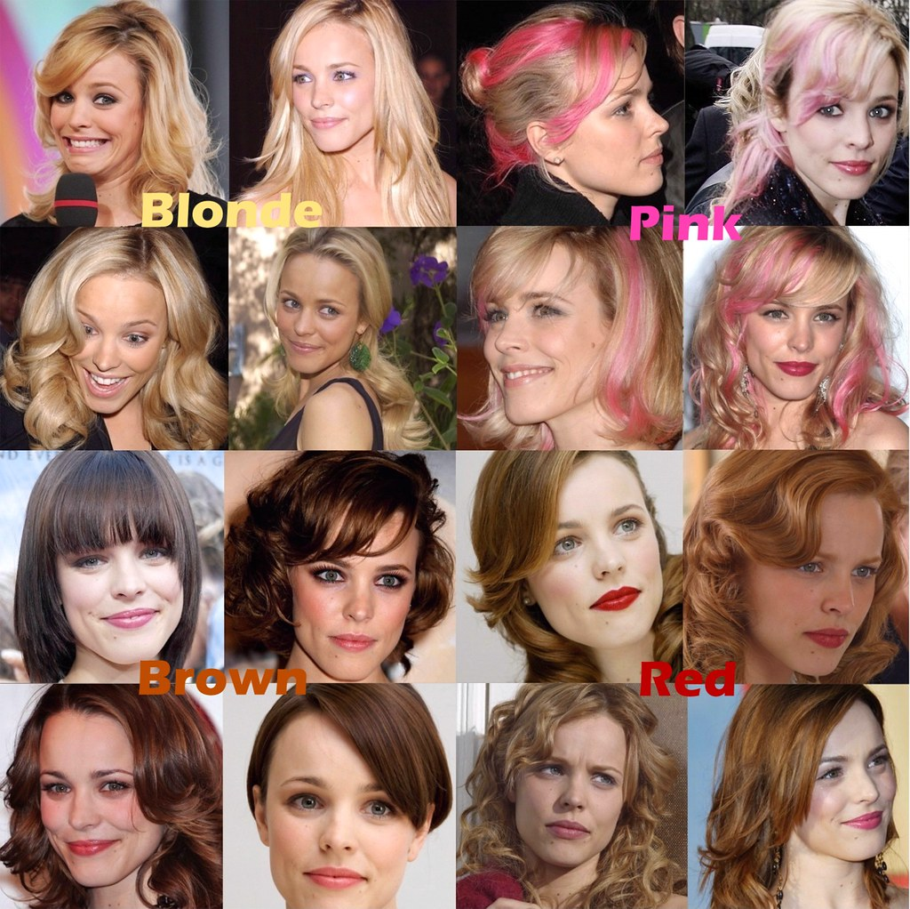 Rachel Mcadams Can Pull Off Any Hair Color A Photo On Flickriver
