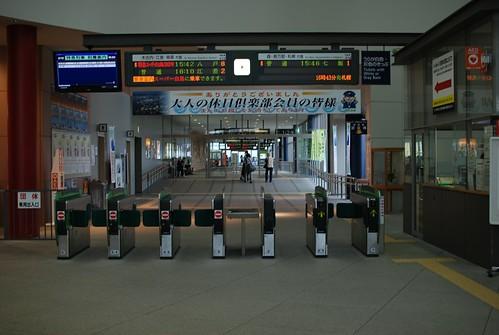 函館駅改札