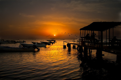 friends sea sunrise canon 40d askhar