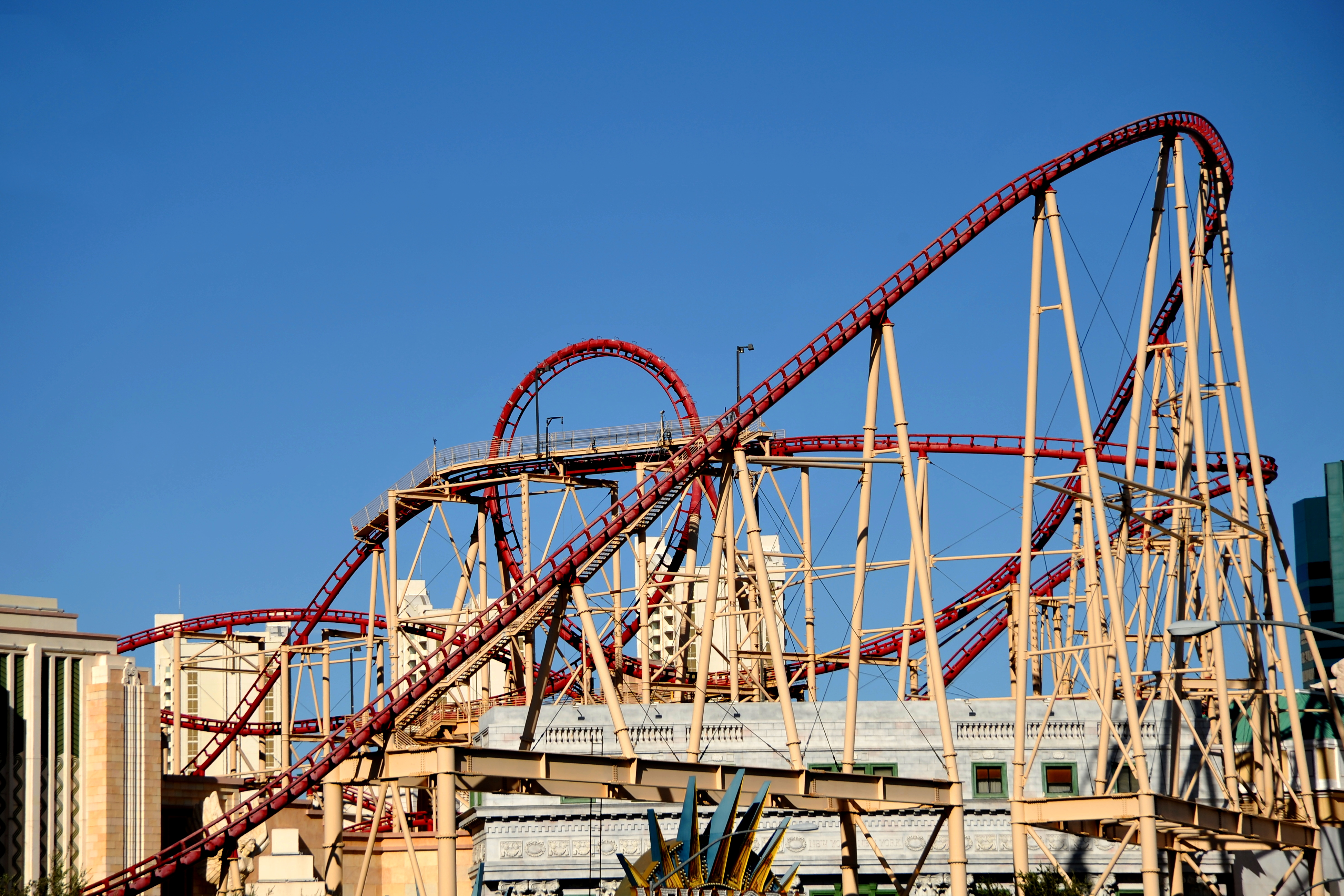 roller coaster new york new york las vegas