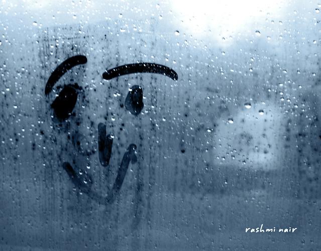 Smile...when it rains