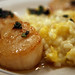 Pan-Seared Scallops with Pumpkin Risotto