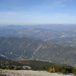 A view from Mount Ventoux