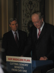 Senate Dems Protest Medicare Cuts by TalkMediaNews