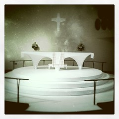 Altar at St. Paul's Lutheran Church