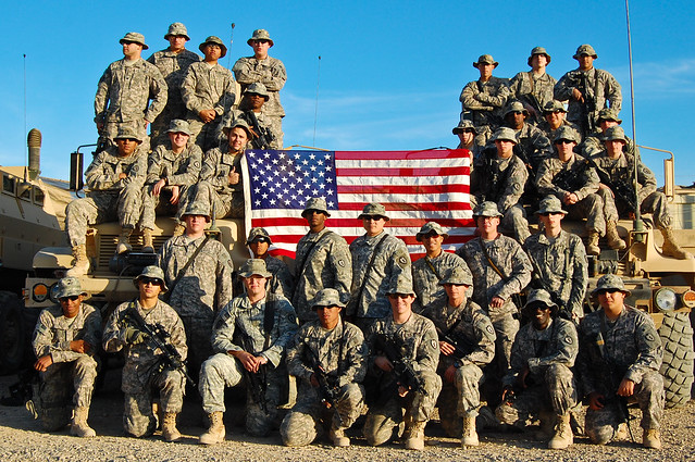 Spartan Platoon Says G...M Day Soldiers