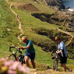 near Cape Cornwall  Off Road Audax UK 62km, 1992