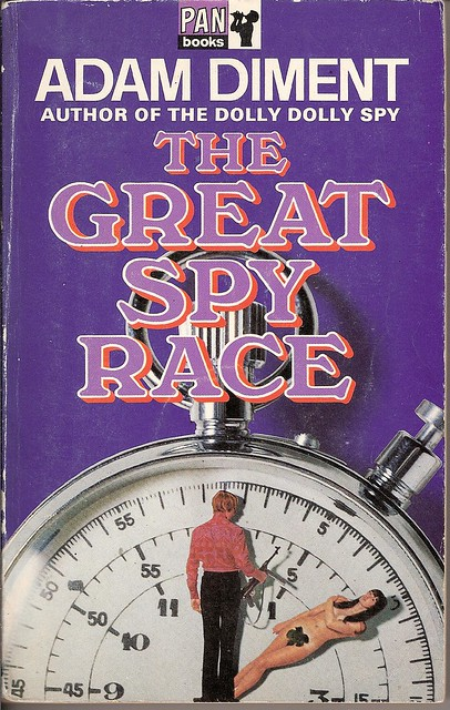 The Great Spy Race - Pan book cover