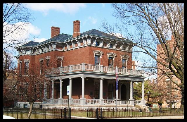 Benjamin Harrison Home 2-09   Flickr - Photo Sharing!  Benjamin Harrison House