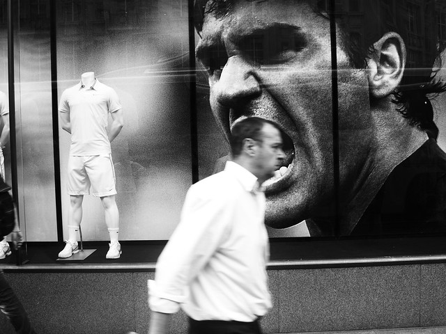 Tennis - The Decisive Moment in Street Photography
