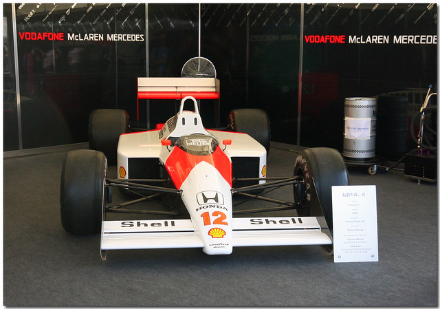 1988 Mclaren Honda MP4/4 F1 Goodwood Festival of Speed 2009