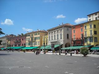 Listone di Piazza Bra (Verona)