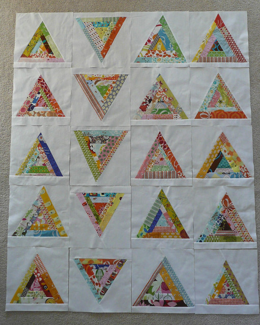 Quilt Designs With Triangles : QUILT PATTERNS TRIANGLES Free Patterns