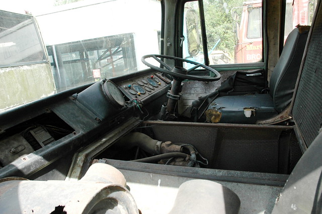 ERF A series tractor unit cab interior